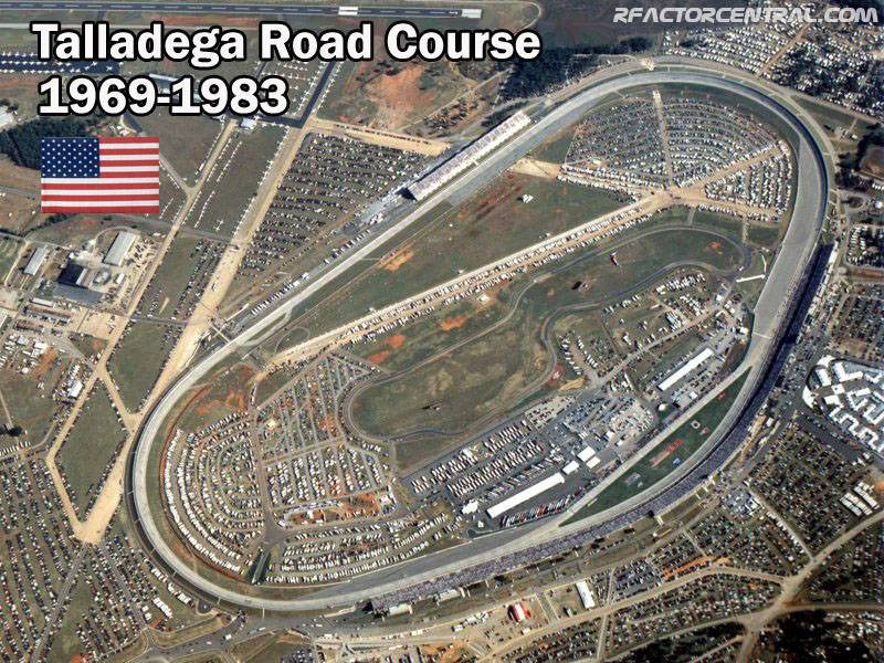 Talladega Road Course By Dutchdevil Rfactor Tracks