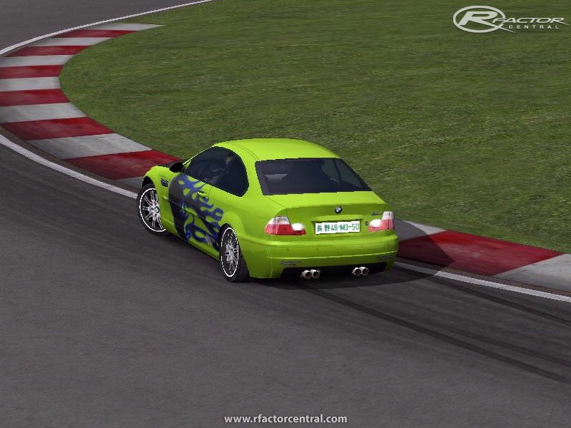 BMW M3 E46 Street Racing 1 10 by outrunner/balnat/ironfly