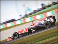 Suzuka GP4 screenshot by Ruhisu