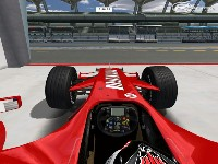 Ferrari F2007 screenshot by sin