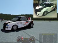 Suzuki Swift Cup and RCM Swift Racer (rFactor2) screenshot by SIMCO