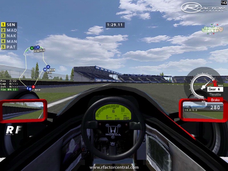 Map Plugin 1 06 by fazerbox   rFactor Addons   rFactor Central