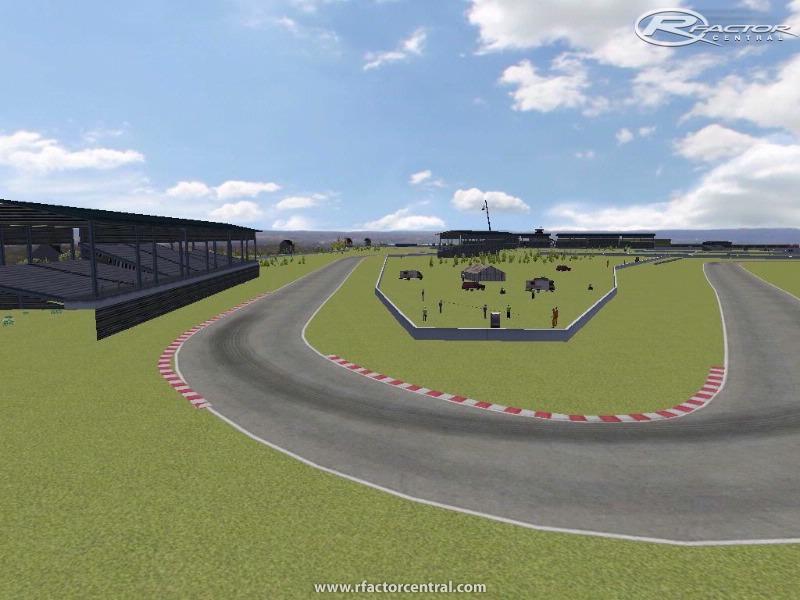 Nijniy-Novgorod racing track 1 by Garik | rFactor Tracks