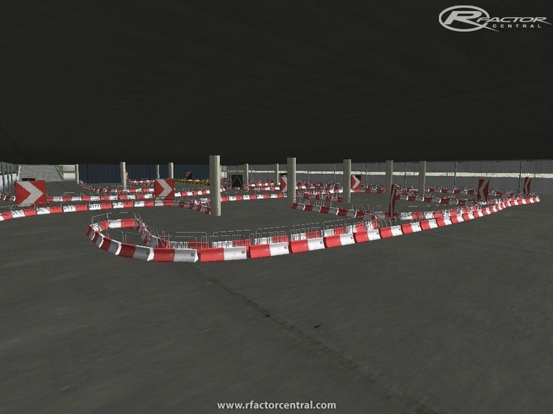 Parking Garage Drifting 1 by Pirx | rFactor Tracks | rFactor Central