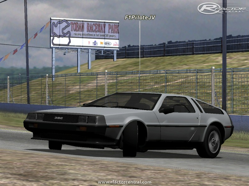 Back To The Future Mod 1 10 by Team FMR | rFactor Cars