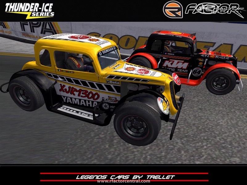 Legends Cars 1 by trellet mod | rFactor Cars | rFactor Central