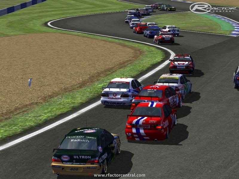 British Super Touring Cars 1998 1 60 by Evo monkey | rFactor Cars
