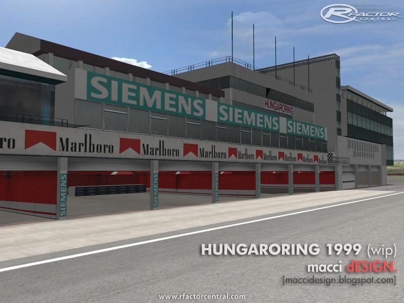 Hungaroring 1999 1 by macci dESIGN   rFactor Tracks
