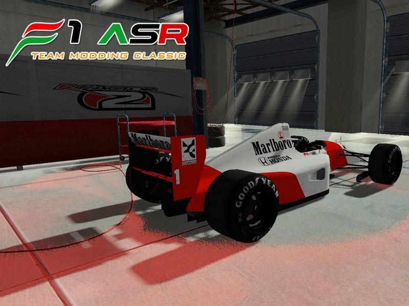 Mclaren MP4/7 (rFactor 2) 1 30 by F1 ASR Modding Team