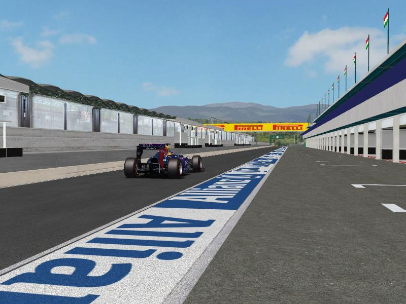 Hungaroring 2014 1 by WCP series | rFactor Tracks | rFactor Central