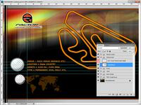 Track Load Screen Template Original Layout for rFactor screenshot by mcoak