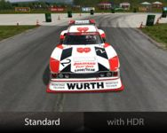 Realistic HDR effect for rFactor screenshot by rainmaker87